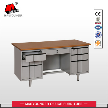Best Price on for Classic Wooden Office Desk Classic Desk With Two Cabinet export to Zimbabwe Suppliers