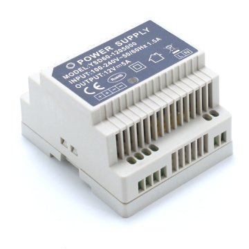 60W Industrial Din Rail Power Supply 12Vdc