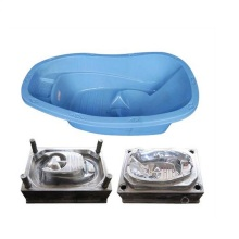 Good Quality for Plastic Crate Making Machine Plastic baby childen bath showering basin injection mould supply to Martinique Factory