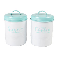 Kitchen Airtight Vintage Style Tea Sugar Canister