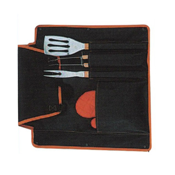 5pcs BBQ tools apron