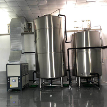 Brewery Stainless Steel Jacketed Cooling Cold Water Tank