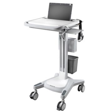 Hospital notebook investigation cart