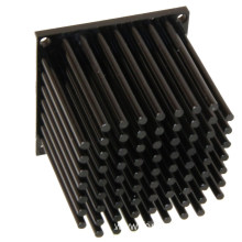 Aluminum 10w passive led fin heat sink.
