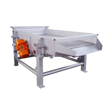 High frequency pollen powder linear vibrating screen