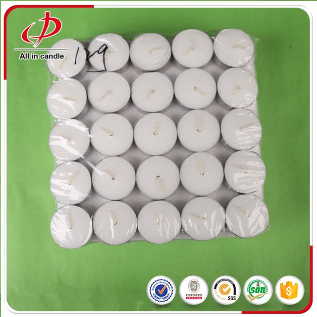 Smokeless Paraffin candle 4hrs tea light candle