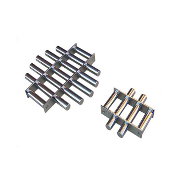 Round separator Magnetic Grate