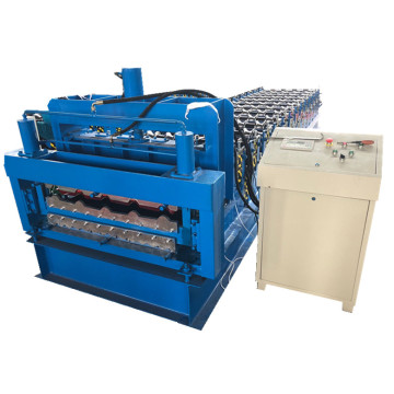 Hydraulic Cutting Roof Panel Cold Roll Forming Machine