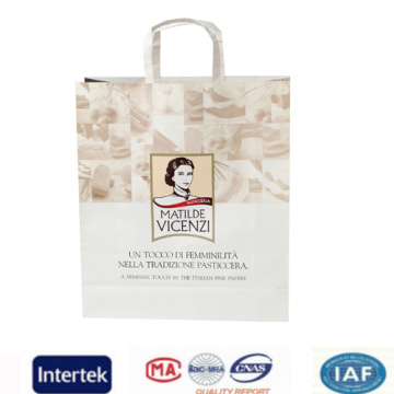 Kraft shopping bags