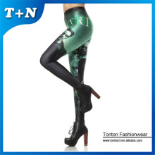 Special for Fashion Printed Leggings Custom printed tights girls full body leggings export to Palau Factories