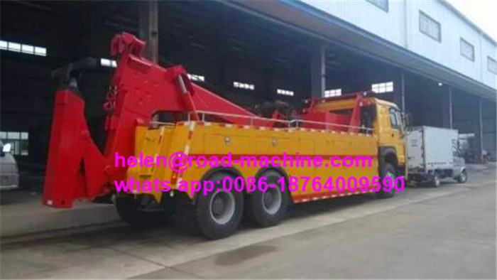 60 Ton Heavy Duty Tow Wrecker Truck