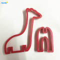 Plastic Aminal Giraffee 3D cookie cutter Set