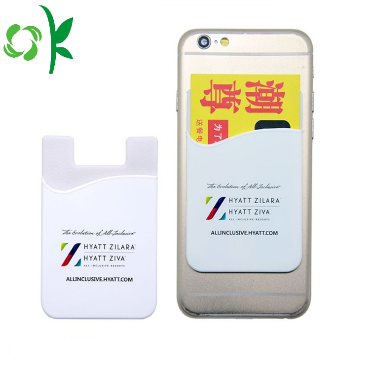 Custom Adhesive Cell Phone Card Holder