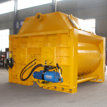 Large capacity double shaft JS concrete mixer machine