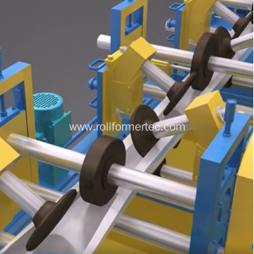 High capacity C purline roll forming machine