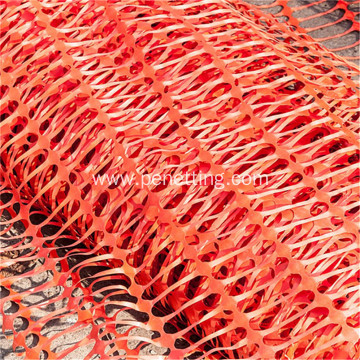 PE orange safety plastic net