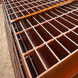 Painted Heavy Load Steel Grating