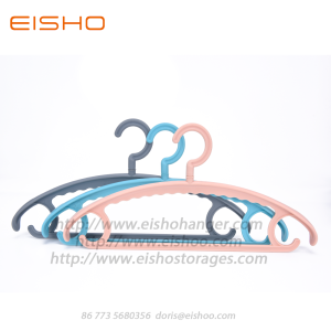 EISHO Colorful Adult Plastic Coat Hanger