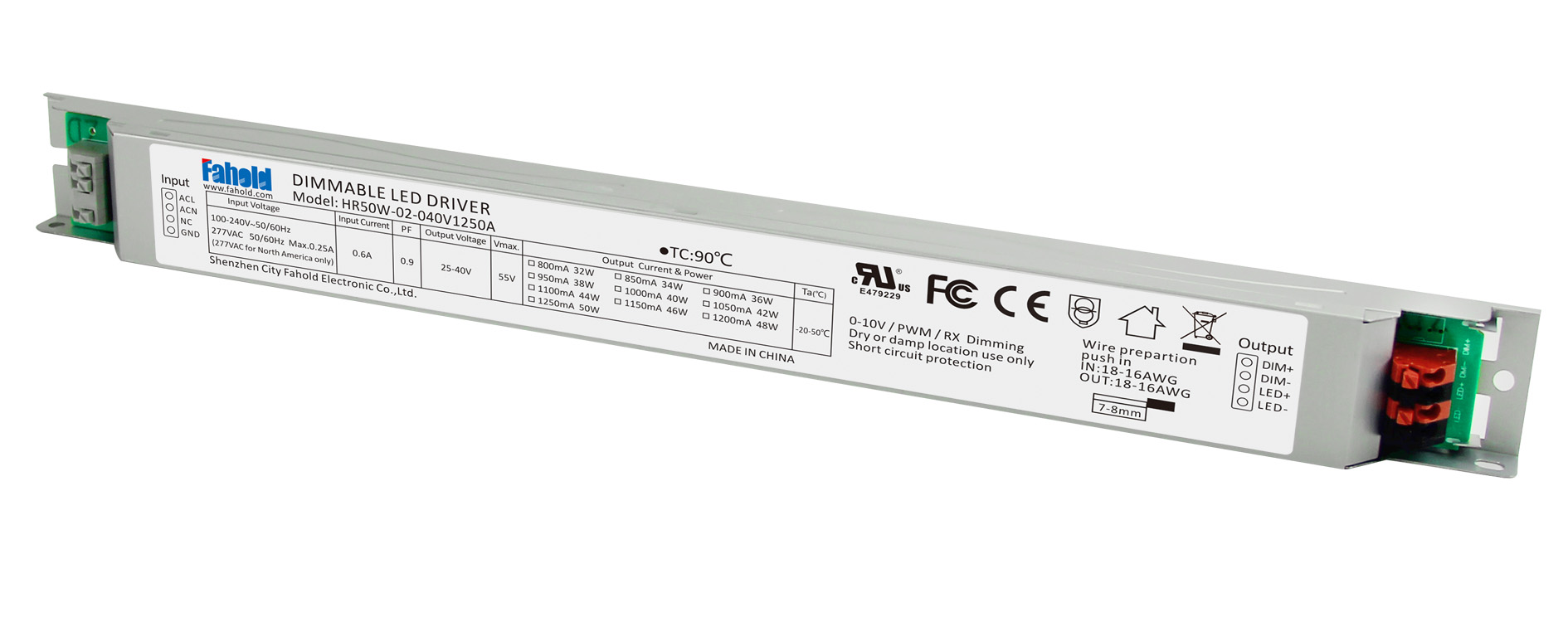 led linear lights driver