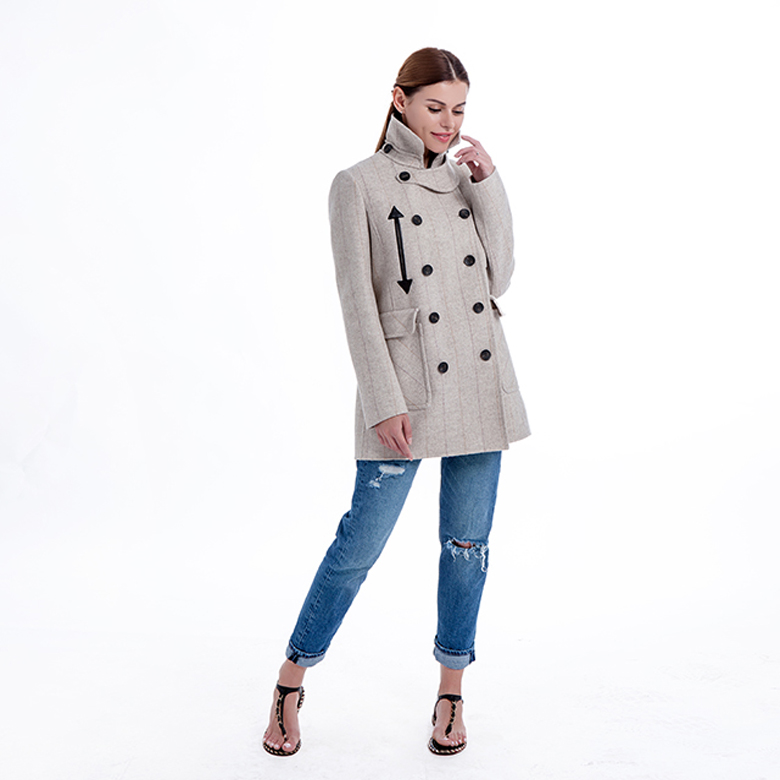 New Model Pure Cashmere Winter Coat