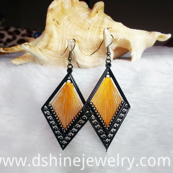 Customized Handmade Thread Earrings