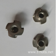 4 Prongs Stainless steel​ Zinc plated T-nuts