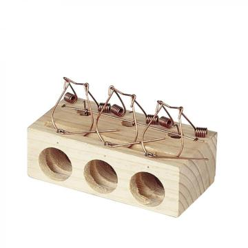 Spring Triggered Loop Mouse Trap - 3 Holes