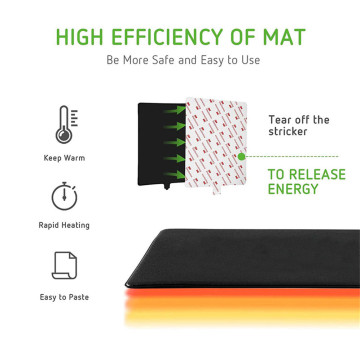 PTC Heat Pad Agafe na infrared Mats 20 Gallon