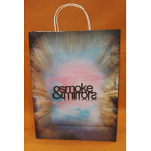 White kraft Paper Bag-smoke