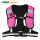 120gsm LED french terry pink safety vest
