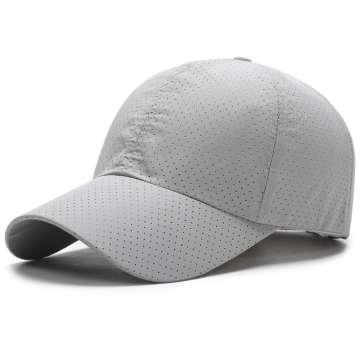 Full Hole Ventilate Portability Polyester Plain Cap