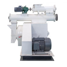 horizontal ring die pellet machine
