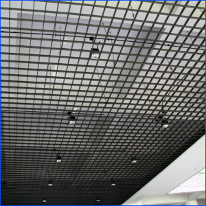 Hot Dipped Galvanized Grating Ceiling Home Depot