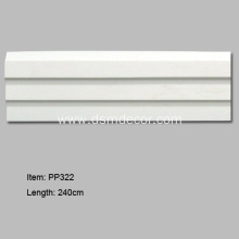 Factory best selling for Pu baseboards High Quality Skirting Boards for Wall Protection supply to Italy Importers