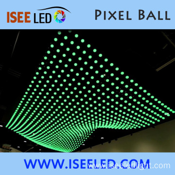 Programmable Disco Equalizer LED Sphere Light