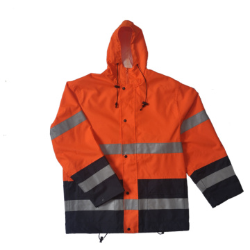 Oxford with PU coating safety cloth