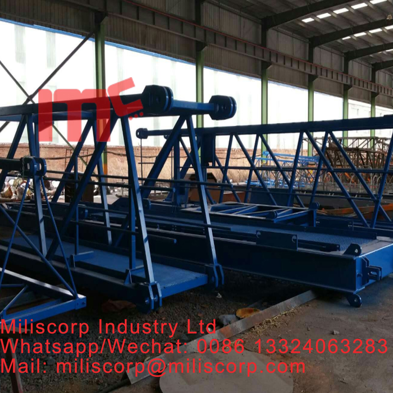 miliscorp 24T MC8040 topless crane