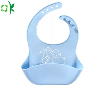 Newest Waterproof Silicone Baby Bib for Meal