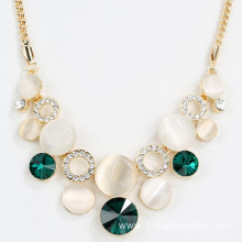 Wholesale Gold Vintage Opal Statement Necklaces Pendant