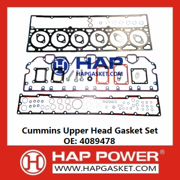 Cummins Upper Head Gasket Set 4089478