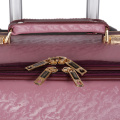 Vintage Trolley PU Leather Small Size Leather luggage