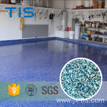 Acrylic Flakes stone hard epoxy flooring