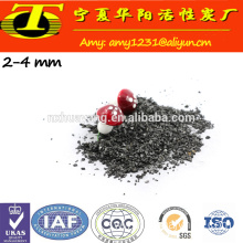 8x30 mesh Coconut shell activated granular carbon manufacture