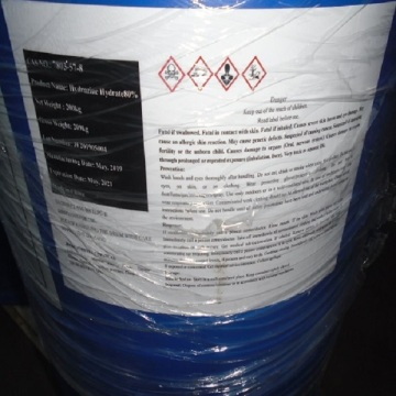 hydrazine hydrate reduction nitro group