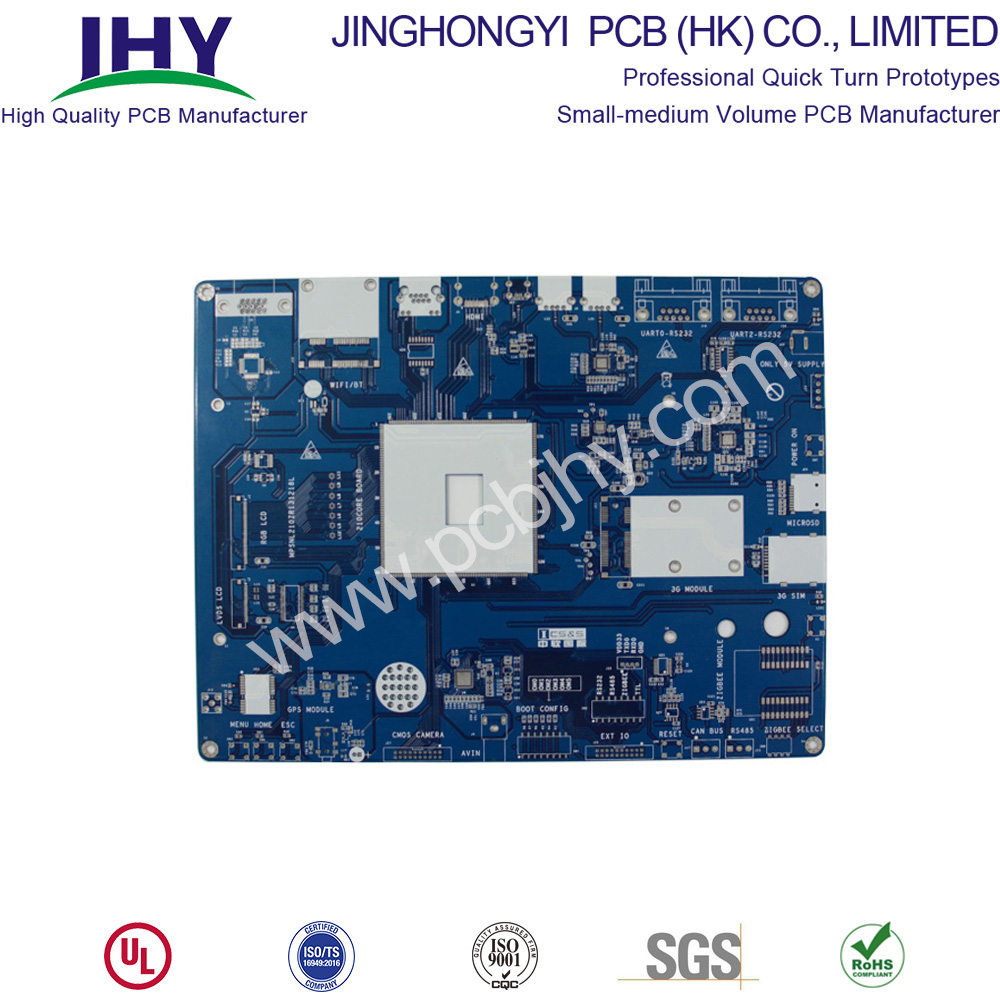 HASL Blue 1oz 1.6mm Four Layer PCB