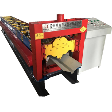 Roofing ridge cap roll forming machine