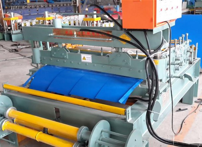 Steel Sheet Slitting Roll Forming Machine