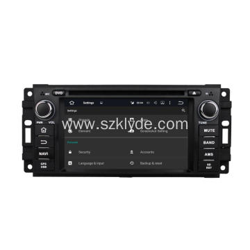 6,2 Inch Octa Oore Jeep DVD Player