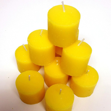 Highly Scented  Yellow Indoor/Outdoor Votive Candles