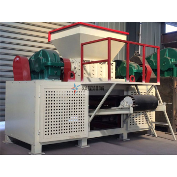 Rubber Tire Cutter Shredder Machine Plant